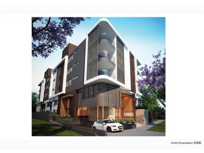 8 Macrae Apartments exterior 3